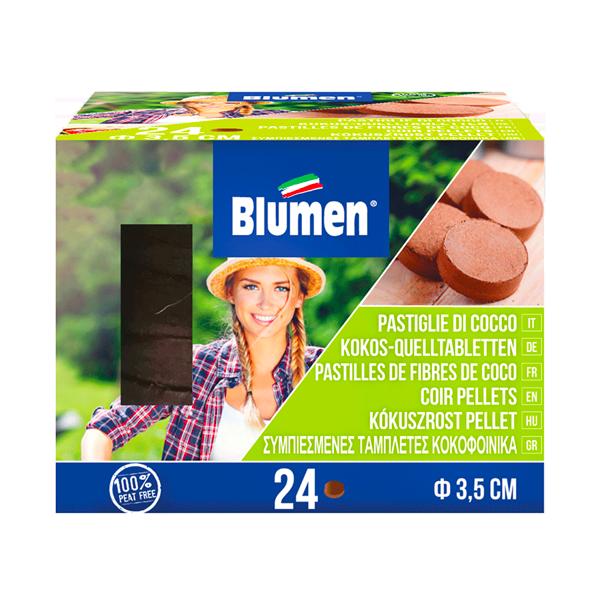 24 ταμπλέτες κοκκοφοίνικα χωρίς δίχτυ biomastores.gr