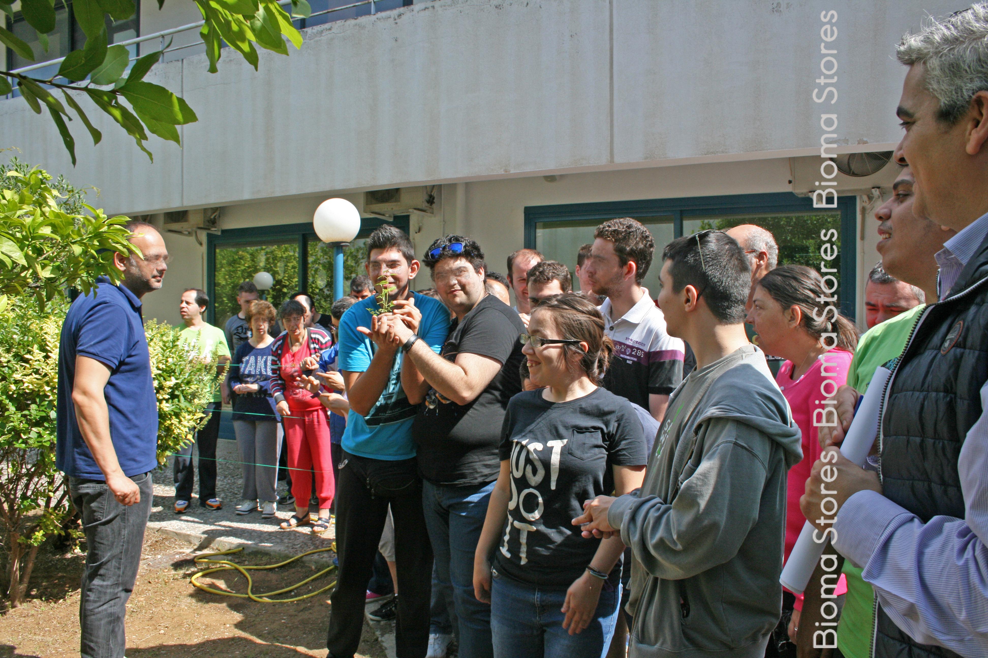 Κοινωνική προσφορά Bioma Plants